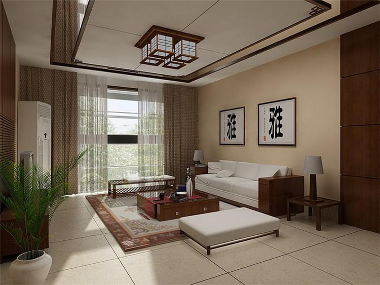 新中式雅居别墅装修设计