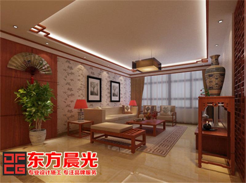别墅装修设计中式风格