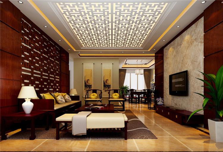 古朴中式风格北京别墅装修设计