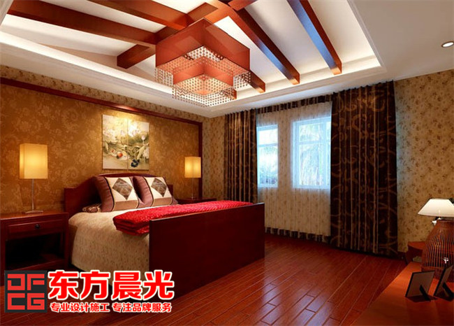 北京别墅装修设计之卧室设计