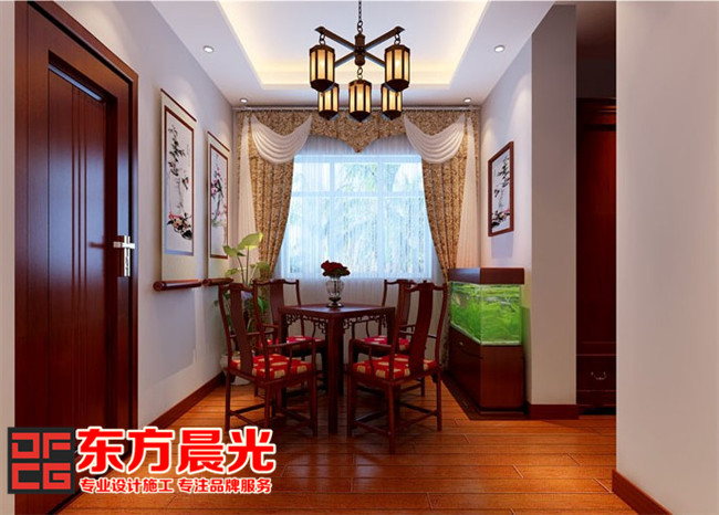 北京别墅装修设计之餐厅