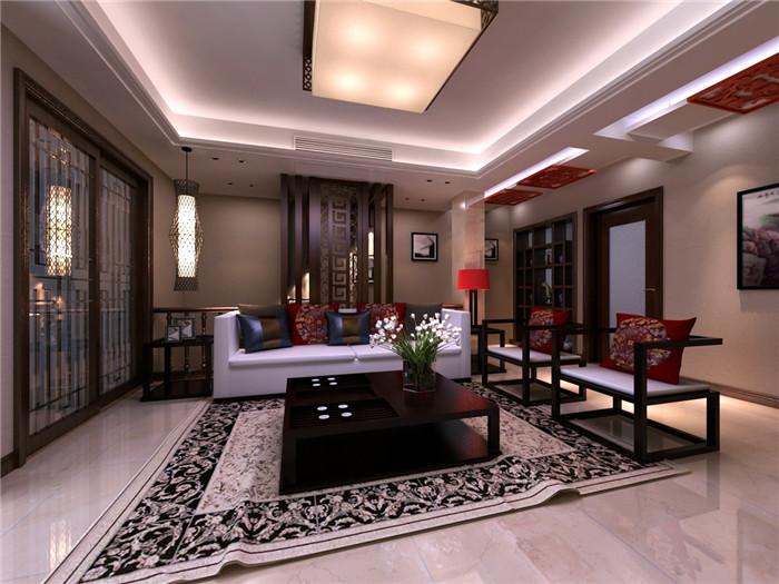 精致豪宅别墅中式装修设计