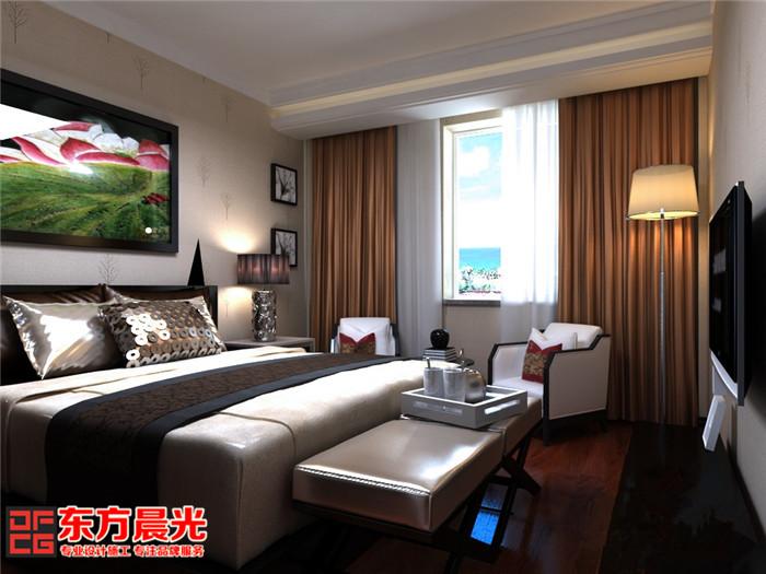 精致豪宅别墅中式装修设计卧室设计