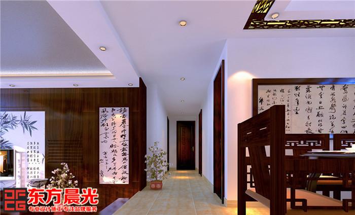 中式别墅装修设计书香气质传承