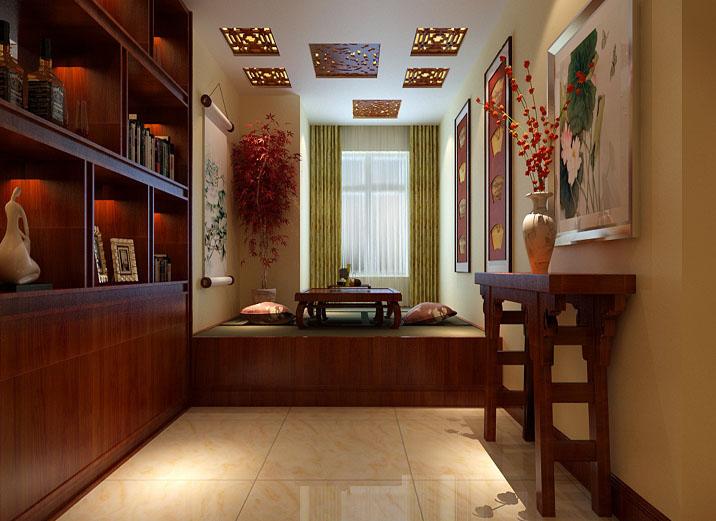 中式别墅装修设计高端淡雅之美