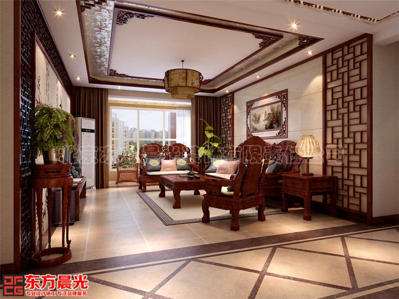 中式装修别墅设计图