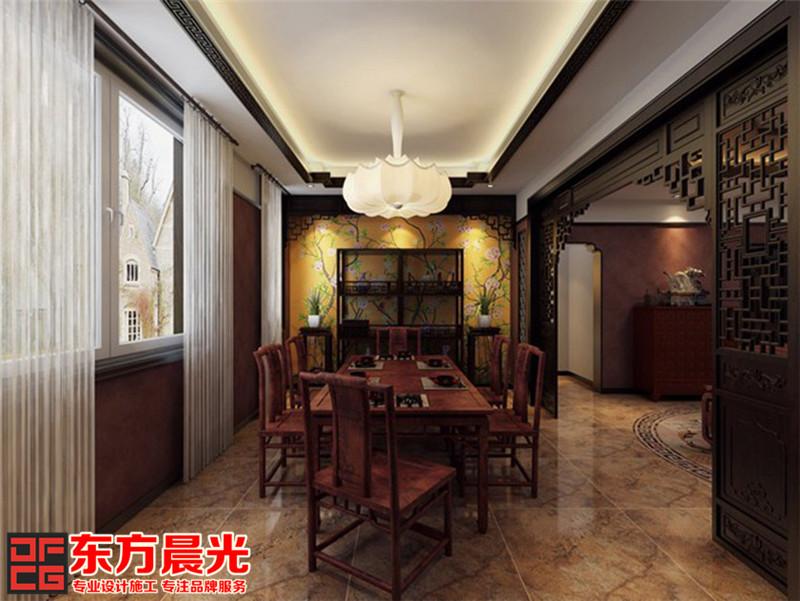 中式别墅装修设计古朴风雅