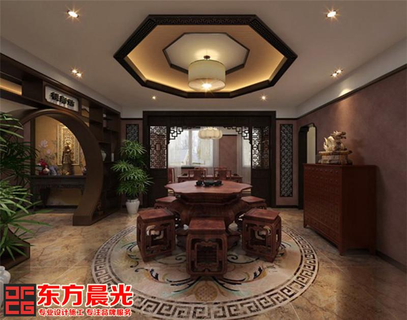 中式装修设计茶韵香浓