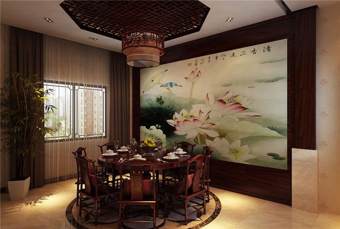 中式古典别墅装修设计素雅之美