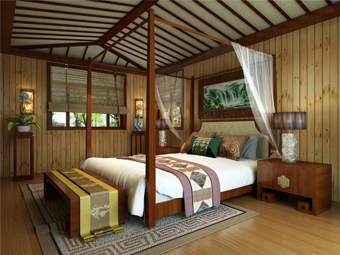 中式风格别墅装修设计木香悠悠