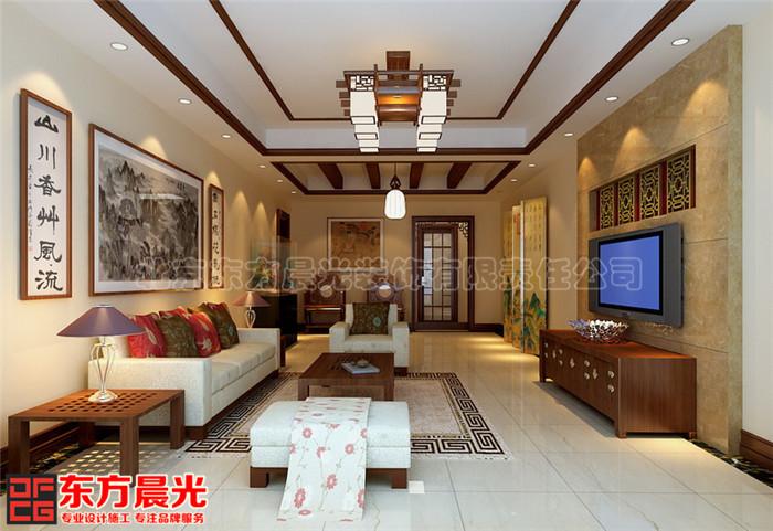 中式别墅装修设计空灵古雅