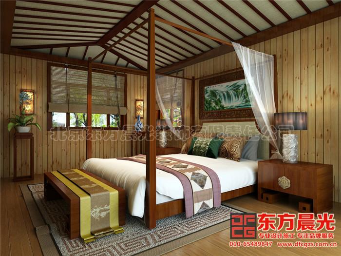 别墅装修设计之卧室