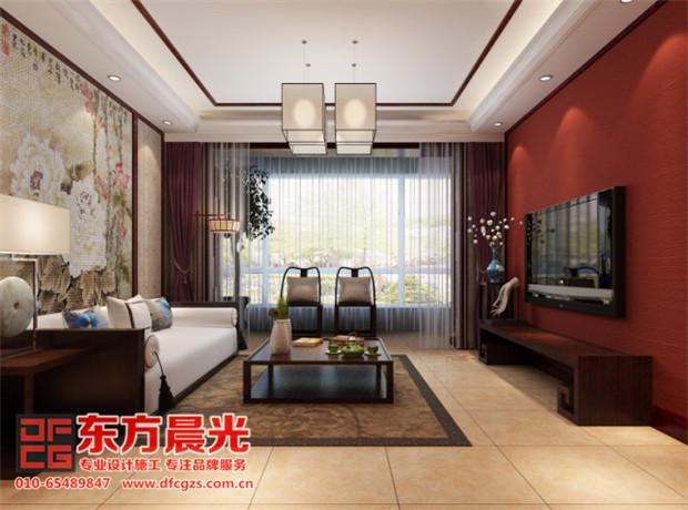 温馨甜美中式别墅装修设计