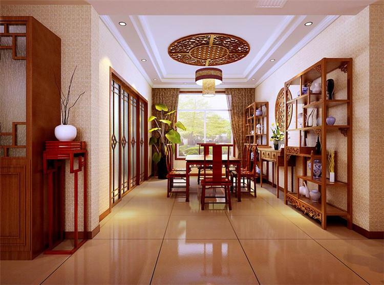 古朴雅洁中式别墅装修设计