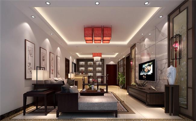 整套别墅简约中式装修设计图
