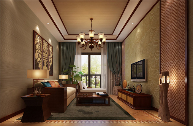现代中式别墅装修设计赏心悦目