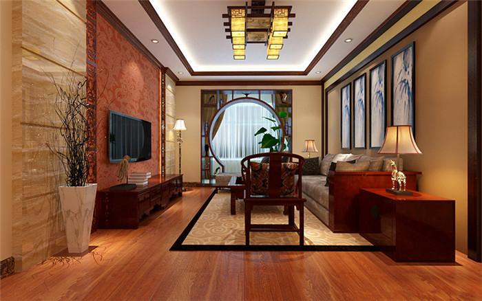 新中式别墅装修设计亦古亦今