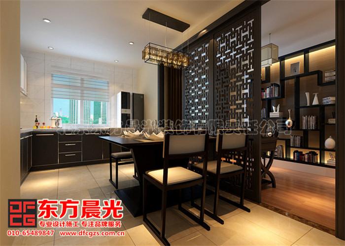 新中式别墅装修设计案例
