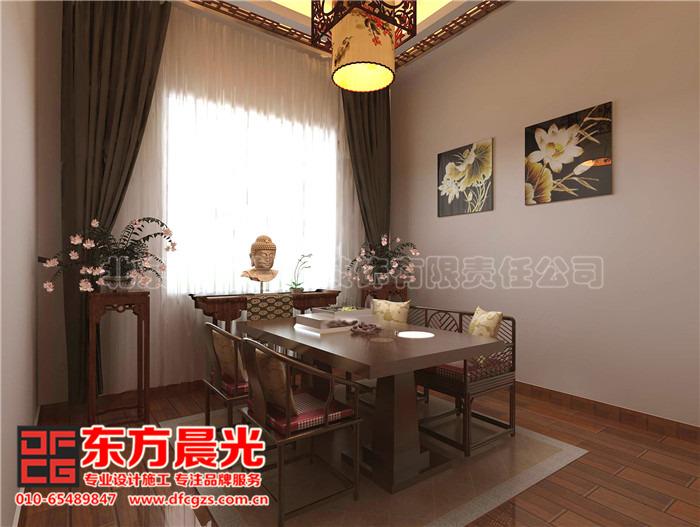 别墅装修设计图之中式餐厅