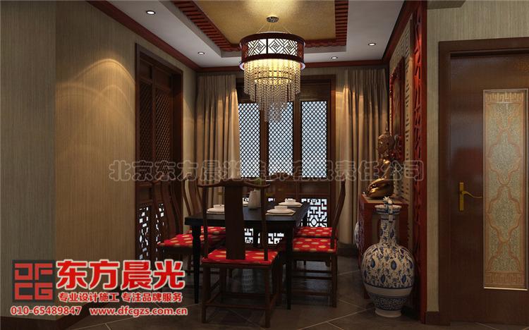 中式别墅装修设计-餐厅