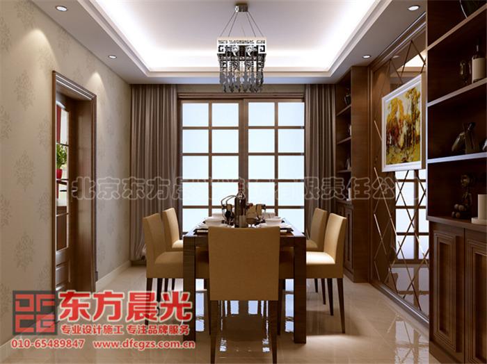 中式别墅餐厅装修设计