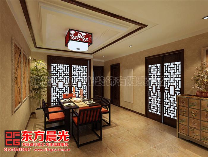 别墅中式装修设计静雅