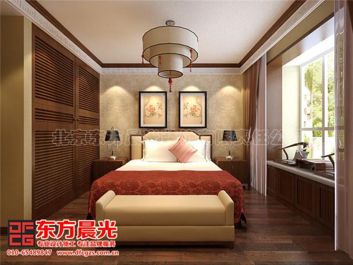别墅中式装修设计之卧室