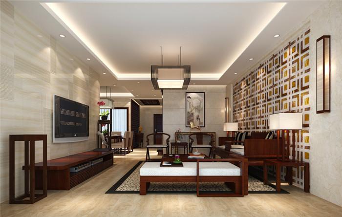 质朴亲切的中式别墅装修设计