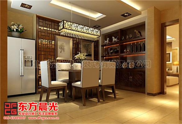 中式风格别墅装修设计与美同居-餐厅