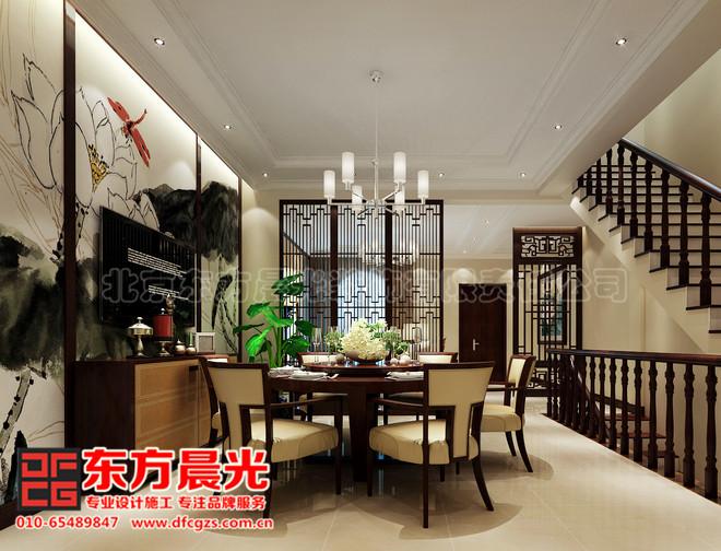 中式别墅装修设计展示盎然生机