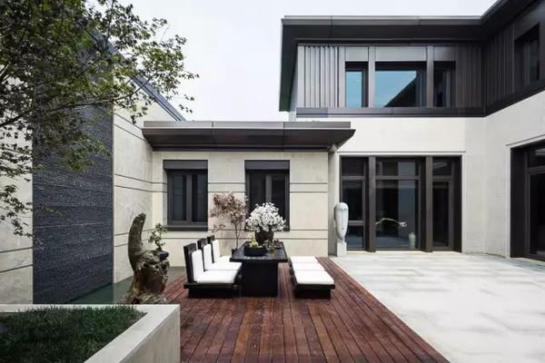 中式四合院别墅设计