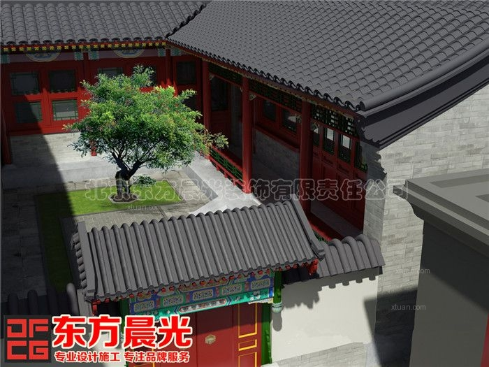 中式宅院装修设计,中式宅院装修