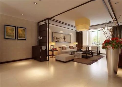 中式小户型家装设计效果图