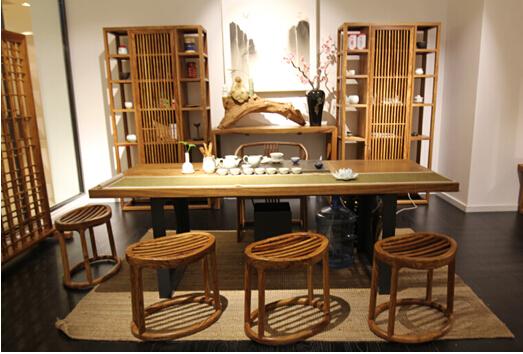 中式风格别墅茶室设计效果图