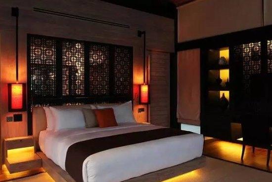 中式别墅卧室风格设计装修效果图 满满的中国风