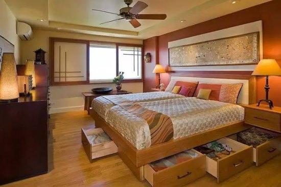 中式别墅卧室风格设计装修效果图