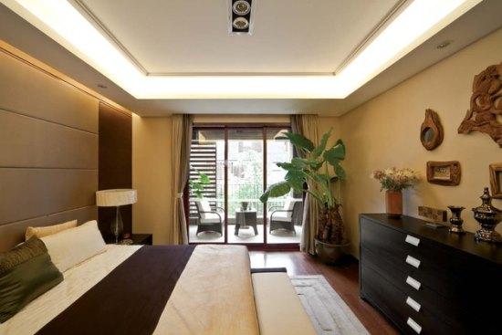 新中式风格别墅装修 时尚温馨大型别墅