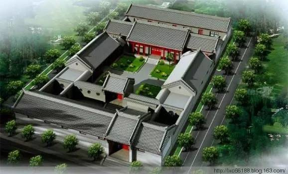 北京四合院别墅建筑文化
