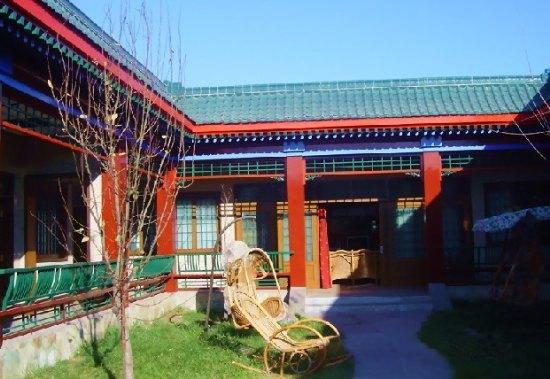 北京四合院别墅中式效果