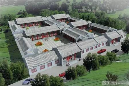 北京四合院别墅中式设计效果