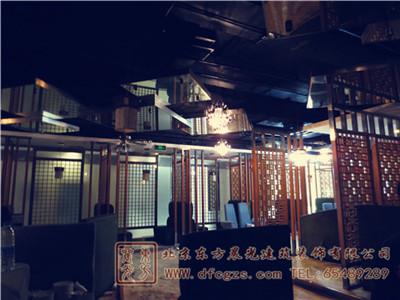 东直门中式餐饮装修