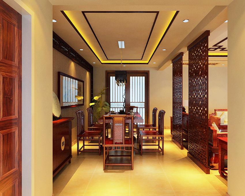 中式酒店装修中的宁静诗意
