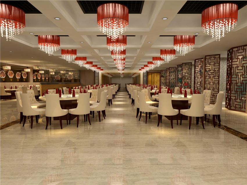 清新高雅北京中式餐饮设计