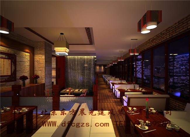中式餐饮装修设计案例展示