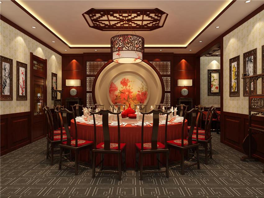 天津塘沽老宅院酒楼中式设计