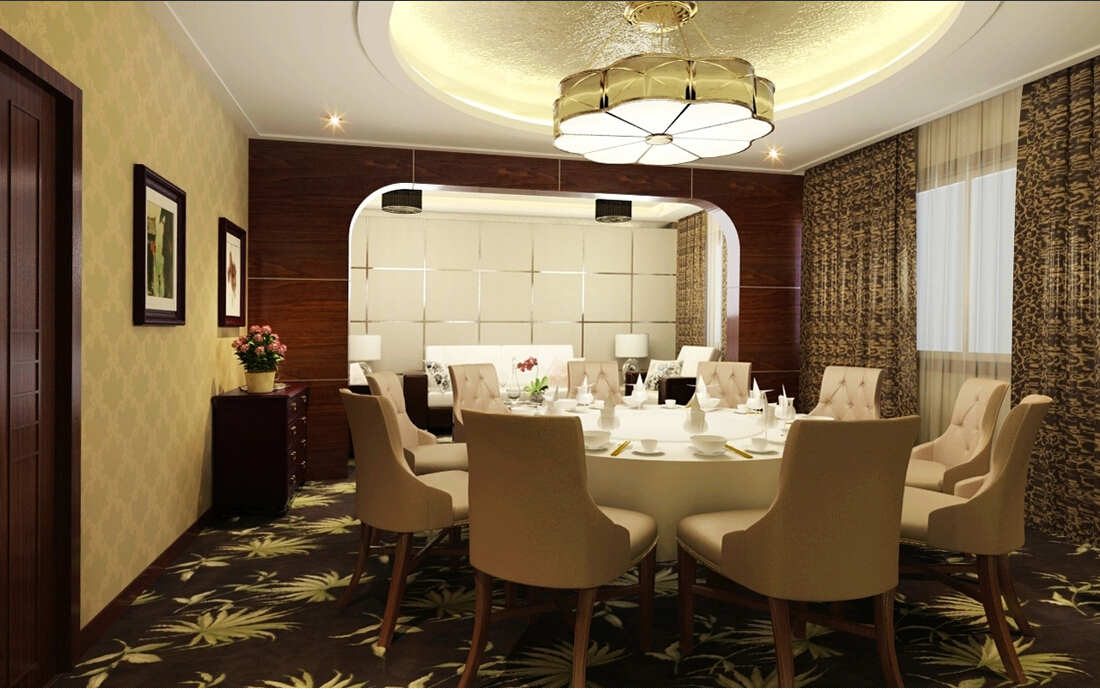 酒店餐厅中式设计