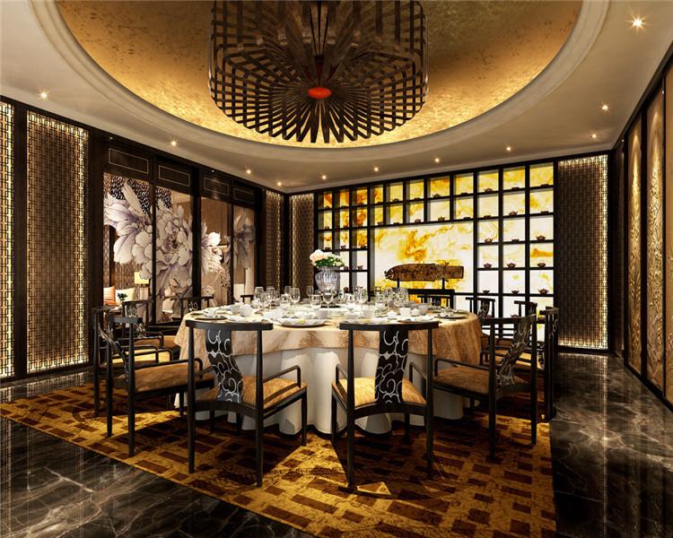 四合院中式设计酒店装修