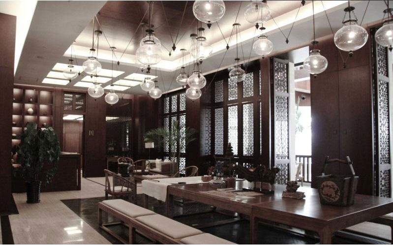 经典中式风格会所酒店装修案例