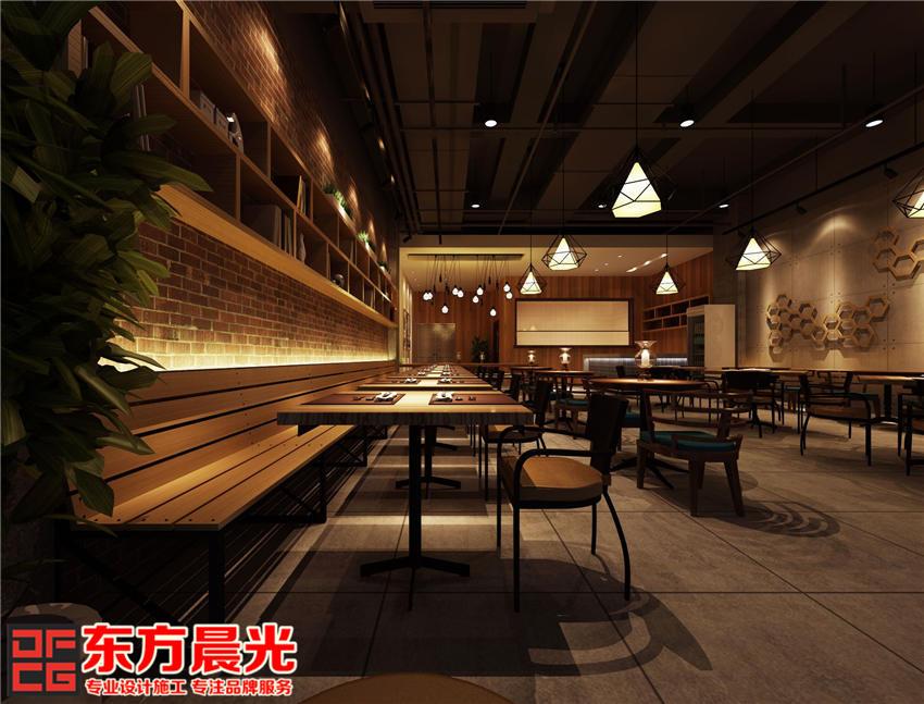 中式设计餐厅装修效果图