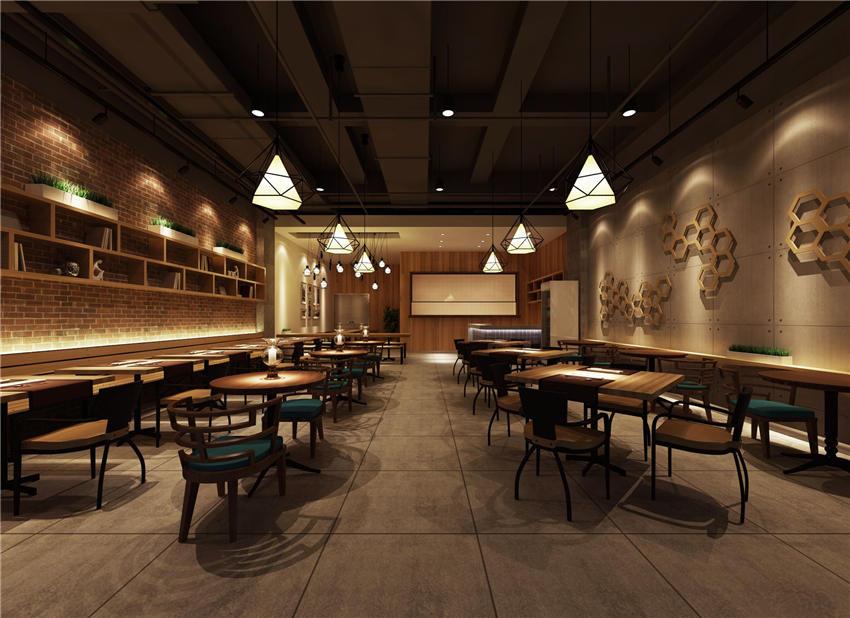 沉稳内敛中式设计餐厅装修效果图